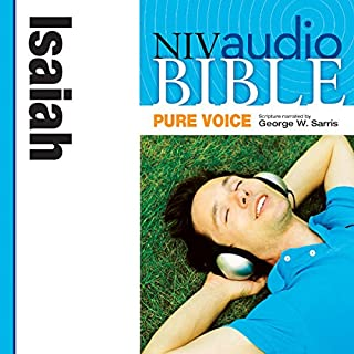 Pure Voice Audio Bible - New International Version, NIV (Narrated by George W. Sarris): (21) Isaiah cover art