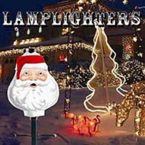 The Christmas Boutique Winter Holidays Santa Claus Lamppost Cover Shade
