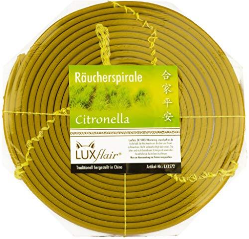 Espiral de Anti Mosquitos Incienso para exterior, varias fragancias, duración de...