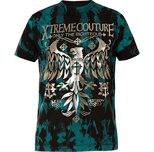 Xtreme Couture by Affliction T-Shirt Steel Mill Blau, XXL