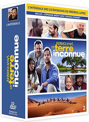 Coffret Rendez Vous en Terre INCONNUE : l'intégrale des 13 émissions de Frédéric Lopez Une Edition Limitee