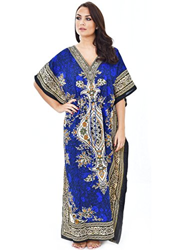 Nightingale Collection Robe - Bleu - Taille Unique