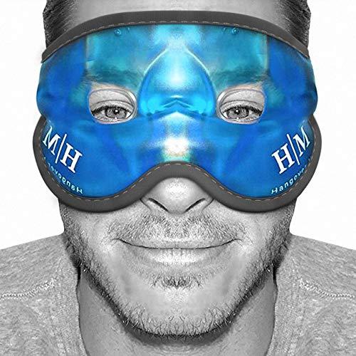 Eccelente maschera gel riutilizzabile, adatta per trattamenti a caldo e a freddo, che aiuta a lenire occhi gonfi, occhi stanchi, mal di testa, postumi di una sbornia, emicranie e occhiaie.