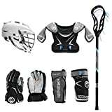 Lacrosse Unlimited Maverik Charger EKG Youth Starter Set W/Complete Stick (Cascade CS-R) (Youth Medium)