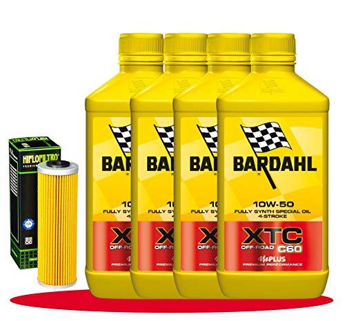 Tagliando Adventure 1050 1090 1190 1290 KIT Bardahl XTC 10W50 filtro olio