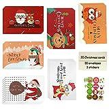 Cartoline di Natale,Biglietto Auguri Natale,Biglietti di Buon Natale,Cartoline di Natale Inglesi,Biglietti di Natale Con Busta,Biglietti di Auguri Natalizi (A)