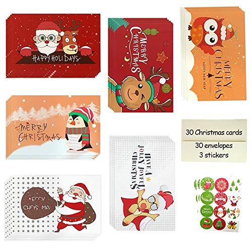 Tarjetas de Navidad con Sobres,Navidad Tarjetas,Tarjetas Nav
