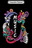 Composition Notebook: Psychedelic Musical Instruments Musician Gift  Journal/Notebook Blank Lined...