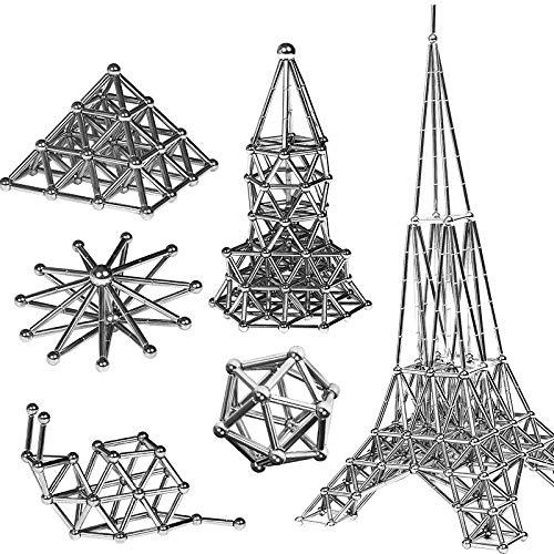 Mil tipos de juegos de bloques de construcción mágicos combinados, juego de portalápices magnético Starbucks, cuentas magnéticas, rompecabezas de palo magnético, juguete de descompresión para adultos