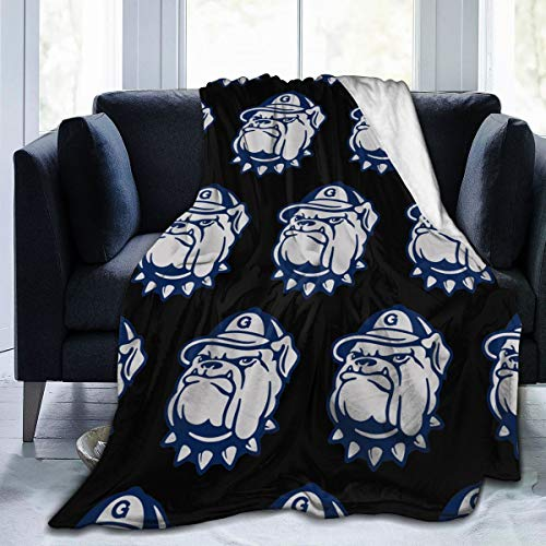 ZPH Georgetown University Super Soft Cozy Blanket for Sofa Couch Bed, Microfiber Flannel Luxury Blanket