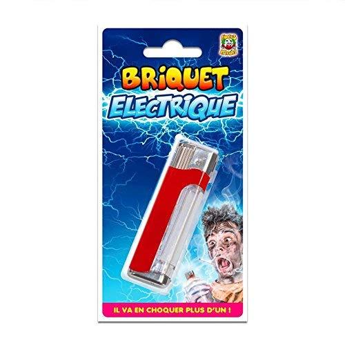 Les Colis Noirs LCN - Briquet Électrique - Farce et Attrape Adulte Blague Décharge Choc - 452
