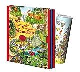Anne Suess - Caja de pañales (3 libros en el curso + póster musical, diversión a partir de 3 años)