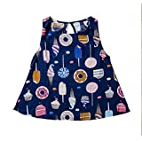 Imcute Baby Girls' Button-Down Shirts & Blouses