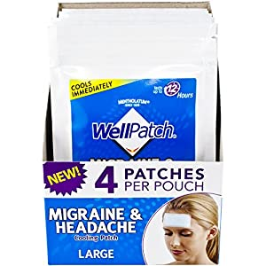SOOTHES & EASES DISCOMFORT: Well Patch Migraine & Headache Cooling Patch provides soothing relief for the discomfort of migraine, tension & sinus headaches. Also suitable for hot flashes and fevers. COOLS IMMEDIATELY: Well Patch Migraine & Headache C...