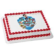 "Whimsical Practicality Paw Patrol Yelp for Help Edible Cake Icing Image for 8"" Round Cake, 7.5"" Round Sheet"