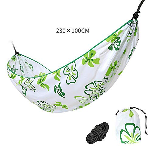 SXNYLY Hammock Printing Outdoor Hammock Multiples Load Capacity Portable With Carrying Bag for Patio Yard Garden Cradle Swing Anti-rollover Hammock...