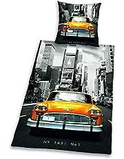 Herding Young Collection sängklädesset, vändmotiv, örngott 80 x 80 cm, påslakan 135 x 200 cm, bomull/renforcé, flerfärgad