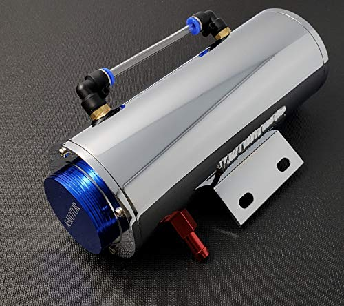 K-Motor Performance Aluminum Overflow Coolant Reservoir Tank Cooling For Radiator Water 500ML