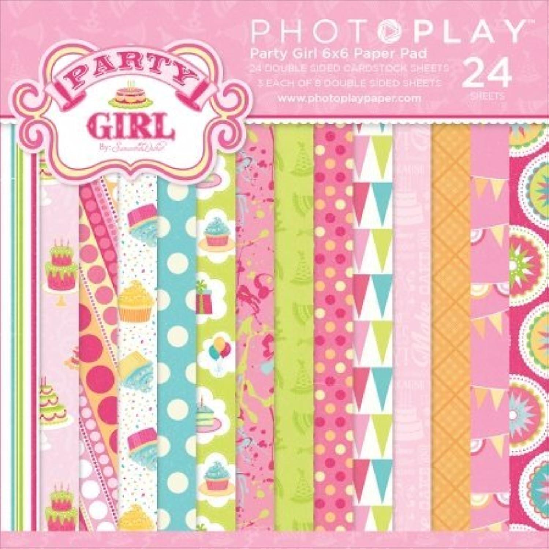 Foto Play Party Girl Doppelseitig Papier Pad 6 6 6 x 6 2 8 Designs 3 EA B01BDU8TFS  | Elegante und robuste Verpackung  ef7c17