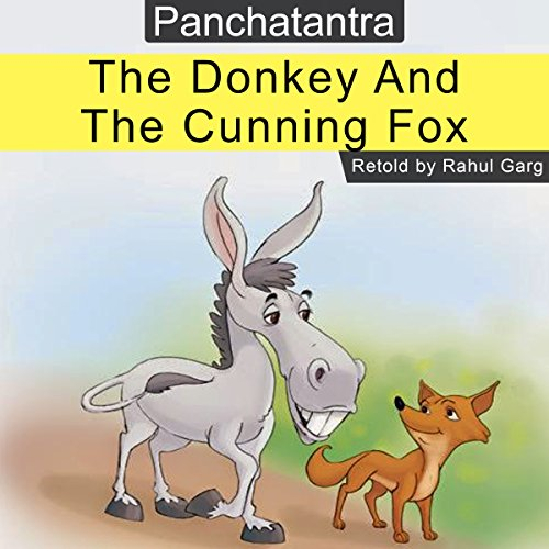 The Donkey and the Cunning Fox audiobook cover art