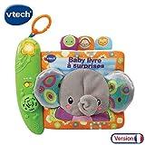 VTech - 189305 - Baby Livre à Surprises (version française)