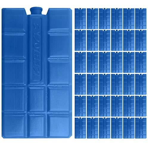 48 Stück Kühlelemente Kühlakkus Kühlakku 200ml Akku Kühlelement Kühlbox