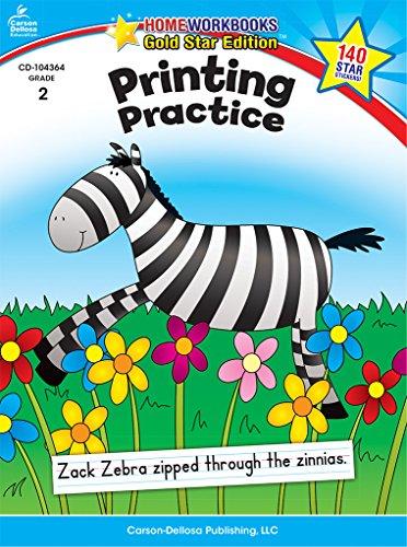 Carson-Dellosa 104364 Printing Practice, Grade 2