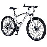 ReooLy 26 Pulgadas Bicicleta de montaña de 21 velocidades Bicicleta Estudiante Adulto al Aire Libre