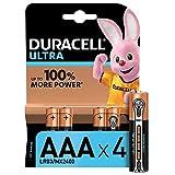 Duracell Pilas Ultra AAA, paquete de 4