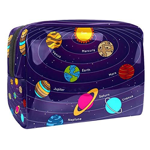 Trousse de toilette multifonction pour femme - Galaxy Planet Lactée