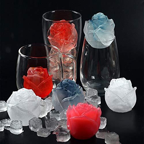 Ice Cube Form Silikon Pink Shape Icecream Mold 3D Big Freezer Ice Cream Ball Maker wiederverwendbar Whiskey Cocktail Form Bar Tools