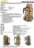 W!SPORT® RACCOON 45 Rucksack (45 Liter Militär Cordura MOLLE Marschrucksack Outdoor Camping Abenteuer), Tarnung:US Multicam - 3