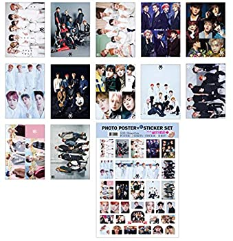 IDOLPARK K-POP Group 2019 New 12 Posters + 1 Sticker Set  All A3 Size   Monsta X