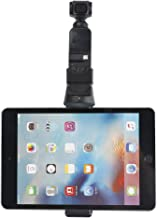 """BonFook Osmo Pocket Tablet Mount Stand IPad Clip Holder Fits 4.5-5.3"""" Inch iPad Mini Tab Compatible with DJI OSMO Pocket Handle Camera Tripod Mount Stand Clip Adaptador Accessory"""