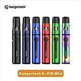 電子タバコ スターターキット Kangertech K-PIN Mini vepe pen 1500mAh充電式バッテリー 2ML容量爆煙 伸縮式マウスピース ポータブル気化器 LEDインジケータ(ブラック)