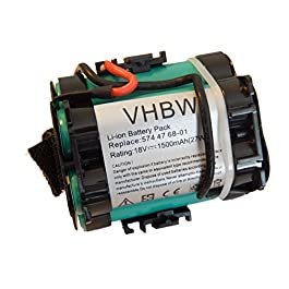 vhbw Batterie de Rechange pour Tondeuse à Gazon Compatible avec Husqvarna Automower 105, 305, 308, 308X, 308 X – (Li-ION…