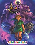 The Legend Of Zelda Coloring Book: Impressive The Legend Of Zelda Colouring Books For Adults And Kids, +50 The Legend Of Zelda colouring pages 2021 ... - Characters , Weapons & Other   High Quality