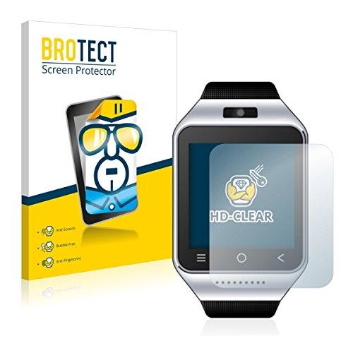 2X BROTECT HD Clear Displayschutz Schutzfolie für ZGPAX S8 (kristallklar, extrem Kratzfest, schmutzabweisend)