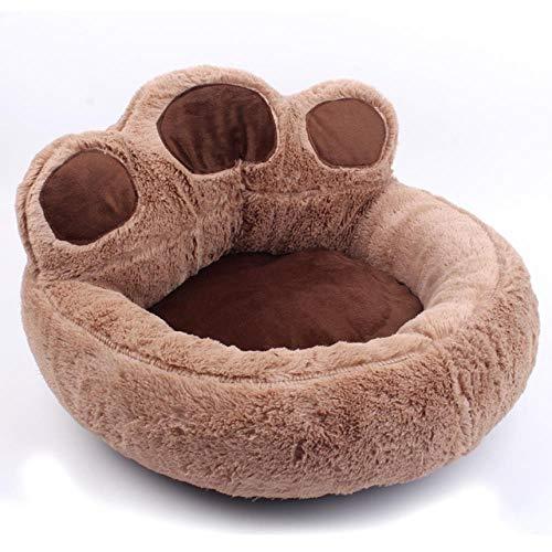 ASDFG Huisdier Hond Kat Warm Bed Winter Mooie Hond Bed Zacht Materiaal Huisdier Nest Leuke Poot Kennel Voor Kat Puppy Slaapbank Bedden Voor Honden Accessoires-In Huizen