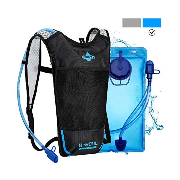 51RyLDd7Z L. SS600  - Shayson Mochila de Hydration-2L Bolsas de hidratación y Unisexo Respirable Ultraligero Mochila de Hombro para Ciclismo…