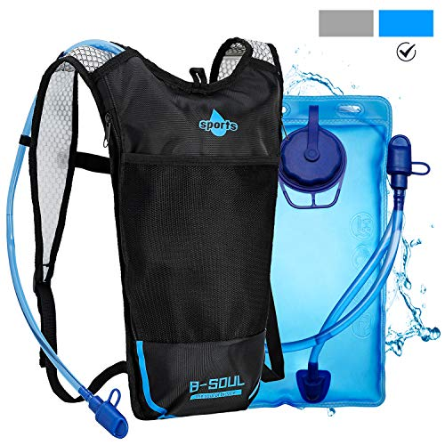 Hydration Backpack with 2L Water Bladder,Shayson Backpack Reservoirs Water Bladder for Outdoor Hiking Cycling Camping Climbing