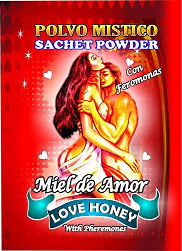 6 PIECES BRYBRADAN LOVE HONEY POWDER/MIEL DE AMOR POLVO EN BOLSA 1/2 OZ 14 GR