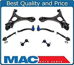 Left & Right Control Arm Arms Ball Joints Tie Rods 8 Piece Kit for 2006-2011 Honda Civic SI 2.0L