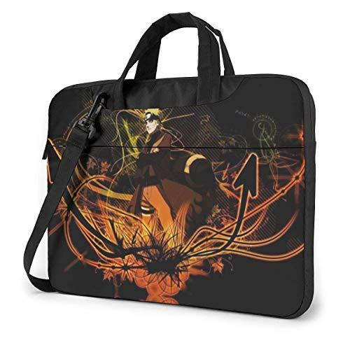 15.6 Inch Laptop Bag Shippuden Laptop Briefcase Shoulder Menger Bag Case Sleeve