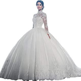 ef6ed0cc432 AK Beauty Wedding White Dresses Ball Gown Sweetheart Wedding Gown Wedding  Bridal for Women s