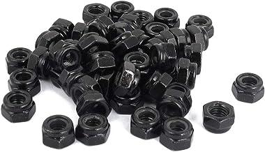 Sechskantmuttern M10 St/ückzahl 20 DIN 6331 Stahl schwarz hohe Form mit Bund Festigkeit 10 Schraubenmutter hohe Mutter Gewindemuffen Langmuttern Gewindemuttern