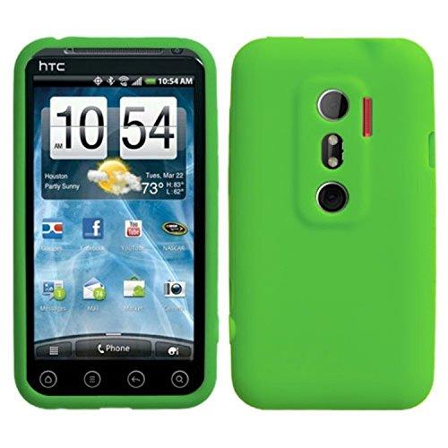 Asmyna HTCEVO3DCASKSO017 Schutzhülle für HTC Evo 3D, dünn, weich, strapazierfähig, 1 Stück, Einzelhandelsverpackung, Dr. Green