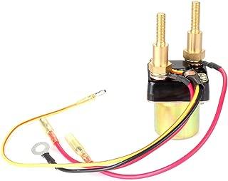 cciyu Starter Relay Solenoid Fit for Kawasaki PWC JS440 1987-1992 440 JS550 1986-1990 550 JS550 SX 1991-1995 550 SMU6060 27010-3006 27010-3007