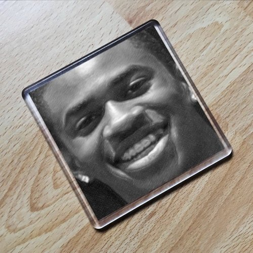 SEASONS MALCOLM DAVID KELLEY - Original Art Coaster #js005