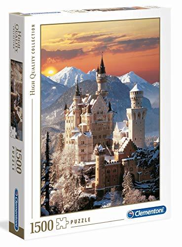 Puzle del castillo de Neuschwanstein de de Clementoni